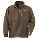 Made with 100% waterproof, windproof, breathable Refuge HS with Hyper. Shield 2.0 Technology, the Drake Waterfowl Systems MST Eqwader Plus 1/4-Zip Long-Sleeve Shirt for Men features pullover style with placket-length zipper for easy on/off, fleece-lining, taped seams, midchest adjustment, neoprene cuffs, magnetic call pouch, and zippered security pockets. Machine wash. Imported.Manufacturer model #: DW432.100% waterproof, windproof, breathable Refuge HSHyper. Shield 2.0 Technology. Placket-length zipper for easy on/off. Fleece-lined. Taped seams. Midchest adjustment. Neoprene cuffs. Magnetic call pouch. Zippered security pockets Eqwader (ek-wad-er) Systems100% waterproof, windproof, breathable Refuge HS (Hard Shell) in the chest, back, outer/lower arms, and shoulders. Breathable, quick-drying moisture-management fleece with wicking ability at the underarms, left and right torso areas, and below the upper chest and back. U.S. Patent #7,318,239.It?s not hard to decide what to wear on hot and cold days, but what about in-between days when the temperatures fluctuate dramatically? The MST series is made of windproof, waterproof, breathable gear designed to be worn without layering when temperatures range from 20? to 45?. - $99.99