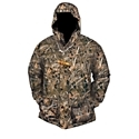 Constructed with Hyper. Shield 2.0 Technology 100% waterproof, windproof, breathable protection, the Drake Waterfowl LST 3-in-1+2 Wader Coat for Youth offers five wearing options thanks to zip-off sleeves on liner. Features include Magnattach Call Pocket on shell jacket and liner jacket, large cargo pockets, Deep Water Handwarmer Pockets, and Refuge HS shell fabric on shell jacket and upper portion of liner jacket. 100% polyester. Machine wash. Imported.Manufacturer style #: DW297002.Hyper. Shield 2.0? Technology 100% waterproof, windproof, breathable protection Five wearing options thanks to zip-off sleeves on liner. Magnattach? Call Pocket on shell jacket and liner jacket. Large cargo pockets. Deep Water Handwarmer Pockets?Refuge HS? shell fabric on shell jacket and upper portion of liner jacket. LST?Aaahh, the morning wind, the sleet, the bone-chilling mist that hovers on the marsh! Miserable to most, it's a duck hunter's dream, assuming you're properly equipped. All Drake Waterfowl LST? gear is constructed of waterproof, windproof, breathable outer material backed by insulation to keep you cozy in your blind and on your way to and from it. - $189.99