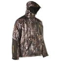 The Browning XM Elite Soft Shell Jacket is ready to keep you dry on the hunt and in camp. Some might even call it ''rainwear on steroids!'' The lightweight, breathable Pre-Vent shell with taped seams offers 100% waterproof and windproof protection while a drop-back bottom hem with draw cord keeps drafts out and warm air in. The 100% polyester inner lining is breathable and wicks moisture away to keep you dry. This soft shell jacket also features a fully adjustable attached hood, internal storm flap, fleece-lined beard guard, welded chest pocket, handwarmer pockets, elasticized hook and loop adjustable cuffs, laminated zippers, and underarm pit-zips for improved circulation when things warm up. Used alone, the fully-taped, 3-Layer jacket keeps you dry in warm temperatures but adding a Prima. Loft down or fleece insulating layer means you're ready for bone-chilling cold. The XM Elite Soft Shell Jacket includes a license tab on back. Imported.Mid-Weight soft shell rain jacket100% polyester inner lining. Pre-Vent 100% waterproof, 100% windproof shell. Drop-Back bottom hem with drawcord. Attached, adjustable hood. Elasticized, hook-and-loop adjustable cuffs. Zipper garages and corded zipper pulls. Welded chest pocket and handwarmer pockets. Internal storm flap and beard guard. Articulated design and athletic cut for increased mobility - $279.99