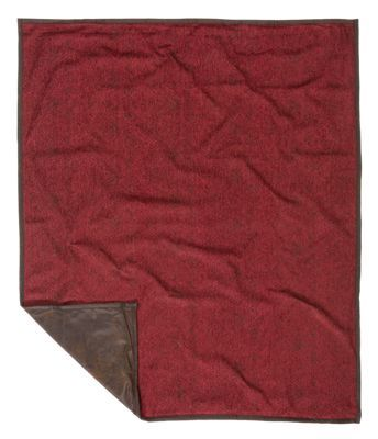 Classic corduroy, warm stripes, chenille, knit, and faux leather combine to create the inviting Wilderness Ridge Collection. Accent your living room or den with this elegant Wilderness Ridge Collection Chenille Throw. Measuring 60inch x 50inch, this throw blanket features a subtle geometric pattern that's versatile enough for a multitude of d?cor styles. 70% polyester/30% viscose. Dry clean recommended. Imported.Manufacturer style #: LG1849TH.Subtle geometric pattern. Faux leather reverse. Part of the Wilderness Ridge Collection. Measures 60inch x 50inch70% polyester/30% viscose. Dry clean recommended. Shop the entire Wilderness Ridge Collection - $89.99
