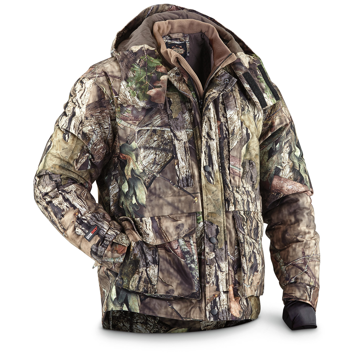 1501e4c0414ad Guide Gear Guide Dry Men's Hunting Parka Waterproof Insulated Breathable -  $79.99