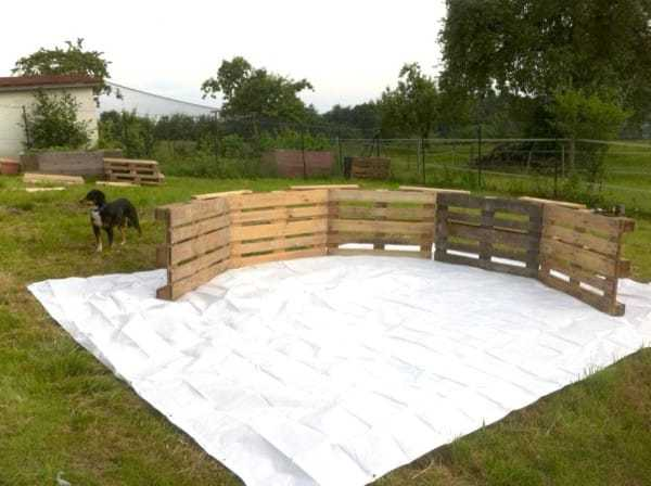MAKE YOUR VERY OWN SWIMMING POOL FROM 9 PALLETS | Jason Hill ...