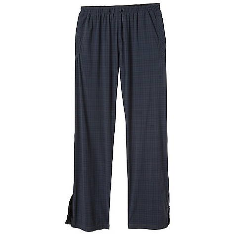 Free Shipping. Prana Men's Transit Pant DECENT FEATURES of the Prana Men's Transit Pant Ultra lightweight 4-way stretch nylon Yarn dye plaid pattern Quick drying and abrasion resistant Encased elastic waistband Reflective logo Back pockets with zipper closure DWR coated Inseam: 32in. / 81.28 cm Standard Fit The SPECS 85 Nylon / 15 Lycra - $109.95