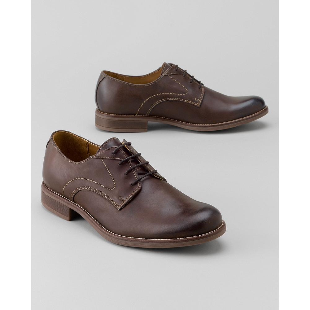 Entertainment Eddie Bauer Bostonian Faneuil Oxfords - These classic Bostonian oxfords feature a burnished leather upper with a rich finish and appearance. Cushioned insole for all-day comfort. - $100.00