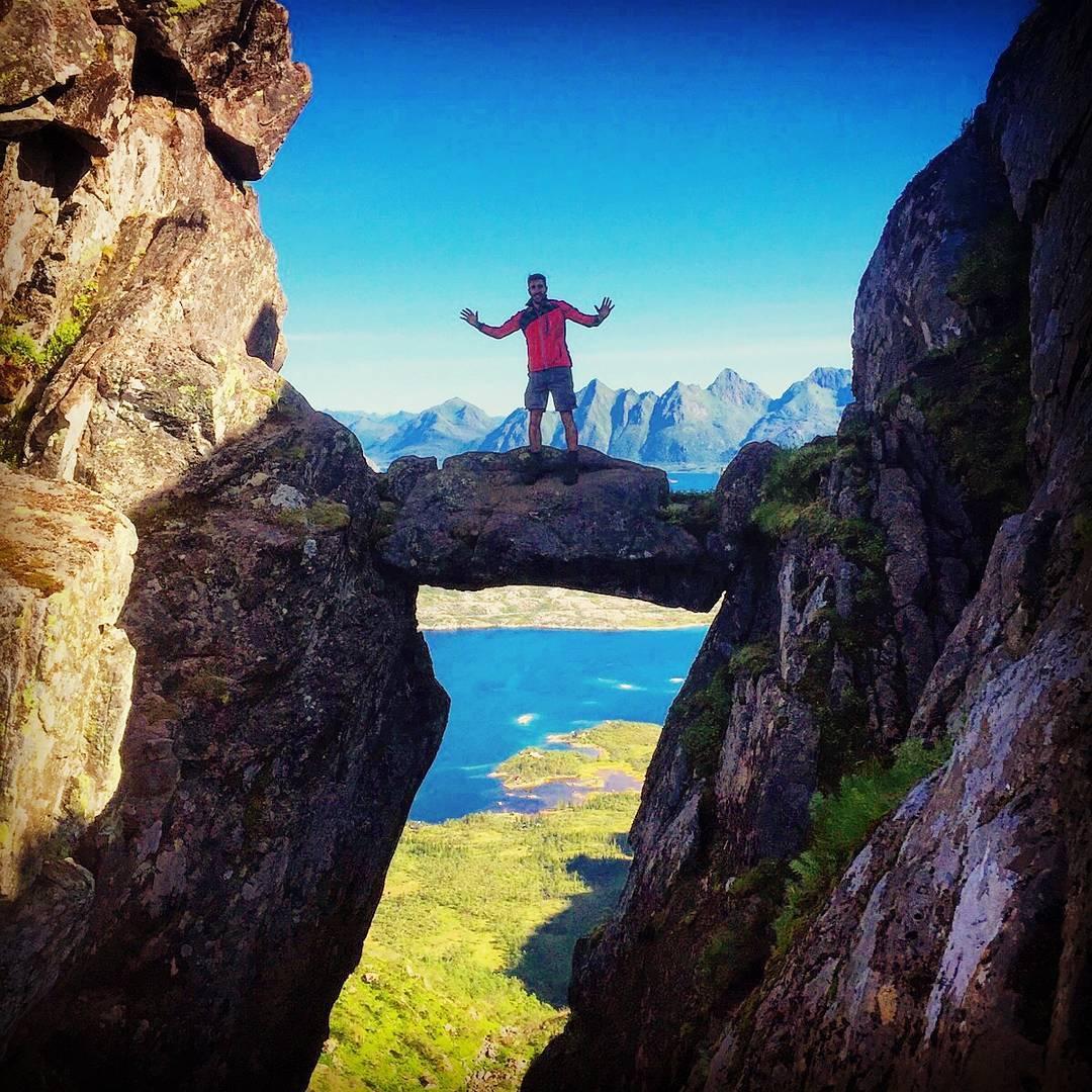 The Devil S Gate Svolv 230 R Norway Hiking Lofotenislands