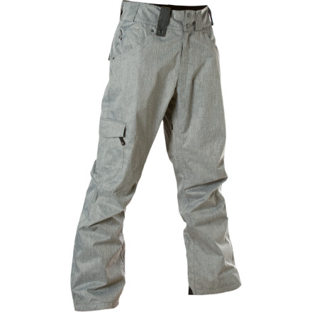 Ski When the weather is whining for attention, respond with the Moment Men's Beldon Pants. Waterproof breathable shell construction and microfleece inner panels let cold, wet snow know it ain't welcome in your pants. - $71.98