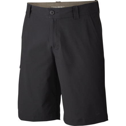 Camp and Hike Go straight from the trail to dinner, or from the exotic market to the consulate picnic, dressed in the Columbia Men's Global Adventure Short. Highly versatile, comfortable, and practical, this performance short in disguise travels anywhere you do. - $37.46