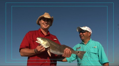 Fishing High Ground Hunters - Redfish Catch