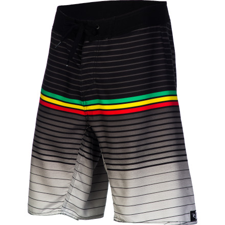Surf The Rip Curl Lurid Men's Board Short was born and bred to rip and shred. The quick-drying polyester fabric is stretchy for freedom of movement when you're chasing down the perfect wave. - $29.67