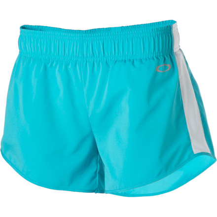 Fitness You'd like running shorts that fit just right (not skin-tight and not floppy), and you'd also like to leave your underwear at home without forgoing coverage (sweaty, clingy underwear are no fun). The Oakley Women's Persevere Short has a free fit and a wicking interior brief. - $30.00