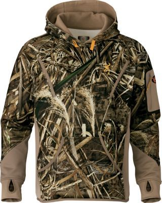 fe4d781e6bc35 Browning Men's Wicked Wing Smoothbore Fleece Hoodie - Rea... - Thrill On