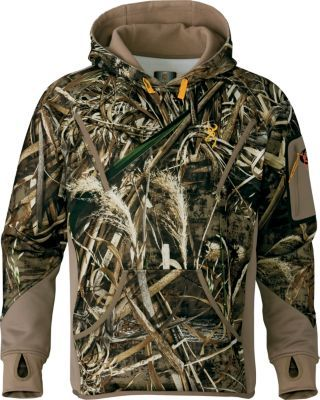 5a39f6d5e837c Browning Men's Wicked Wing Timber Soft-Shell Hoodie - Realtree Max-5  (Small) (Adult) - $149.99