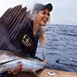 Flyfishing thrill on for Brooke thomas fishing