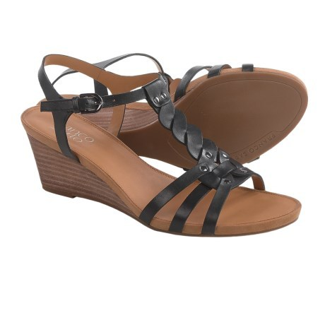 d16dbd29d822 Franco Sarto Durango Wedge Sandals - Leather (For Women) ... - Thrill On