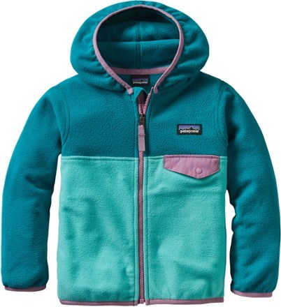 fad8a03e8 Patagonia Girl s Micro D Snap-T Fleece Jacket - Toddler G... - Thrill On