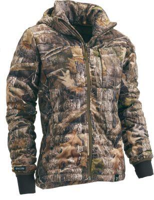 4b81733df17c2 TrueTimber Womens Pulse TrueSuede Down Jacket will keep you warmer, longer,  to keep you