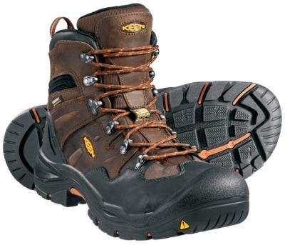 Keen Utility Men S Coburg 6 Waterproof Work Boots Brown