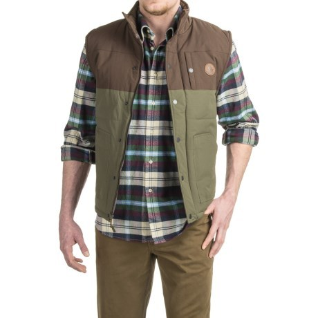 166440ea953 HippyTree Burro Vest - Flannel Lined (For Men) -  49.99 - Thrill On