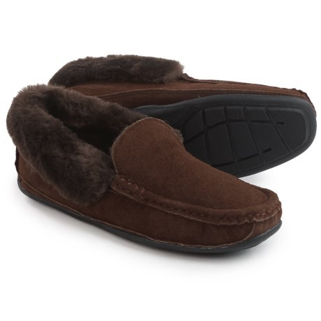 21499d350 LAMO Footwear Tremont Moccasin Slippers - Suede (For Men)... - Thrill On