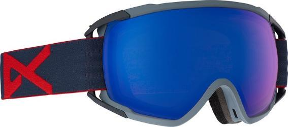 The men's Anon Circuit MFI OTG snow goggles fit over your glasses and offer an integrated face mask with Magnetic Face mask Integration (MFI) that snaps in place to seal in warmth. - $189.95
