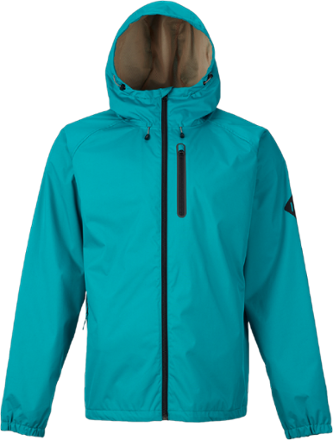 Made for misty fringe-season mornings, the men's Burton Portal rain jacket uses critically taped seams and a durable water repellent (DWR) to offer lightweight protection against gently falling rain. - $69.73