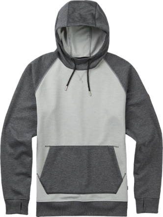 It may feel like your favorite old sweatshirt, but the Burton Crown Bonded Pullover hoodie is much more. With shell fabric backed by plush, quick-drying fleece, it's technical comfort at its best. - $62.73