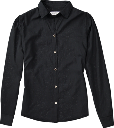 Going for a buttoned-up look doesn't have to be uncomfortable. The women's Carve Designs Riviera button-down shirt is the best of both worlds, with a polished design made of soft cotton. - $36.73