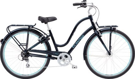 Ready to handle the rigors of the road, the Electra Townie Commute 8D bike comes with a host of commuter-friendly features like a bell, rear wheel lock, fenders, and front and rear racks and lights. - $769.00