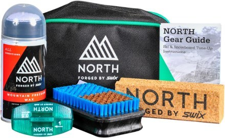 Keep your skis or board running smooth all season with the North Shuttle Kit. With 6 Swix tuning and waxing items, it's a great gift for any snowboarder or skier-including you! Treat yourself. - $79.95