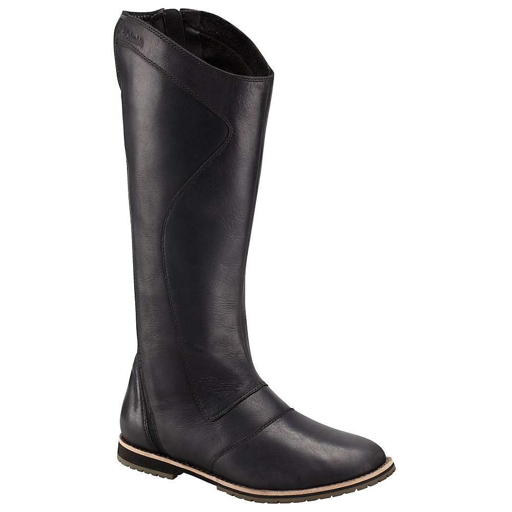 Features of the Columbia Women's TwentyThird Ave WP Tall Boot Upper: Full grain leather Upper with two-way stretch textile strategically placed to offer a perfect Fit for any calf size. Omni-Tech Waterproof Midsole: Die cut and buff EVA Outsole: Solid non-marking rubber Outsole - $190.00