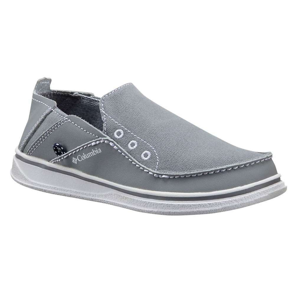 Features of the Columbia Youth Bahama Shoe Upper: Combination leather and textile Midsole: Cupsole construction Outsole: Omni-GRIP non-marking traction rubber - $35.00
