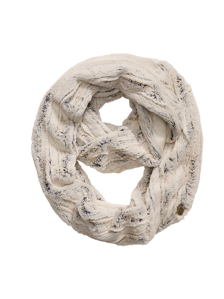DESCRIPTION:The The North Face Women's Furlander Scarf is a infinity scarf with a faux fur feel.   FEATURES:High-pile, faux-fur on one side, jersey knit on the other.The North Face logo badge.100% polyester.Imported.Width: 10 inLength: 64 in - $42.00