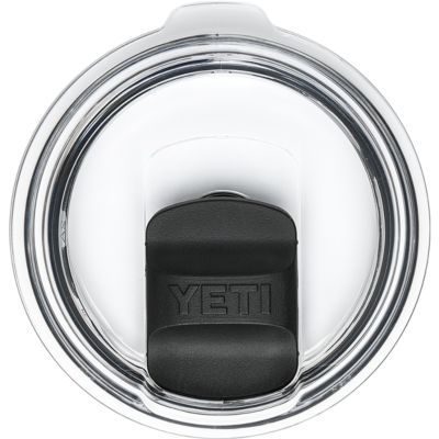 Shop All YETI Enjoy a hot drink without worrying about spills or splashes with YETIs Rambler MagSlider Lid. Unlike other slider lids, the MagSlider uses the power of magnets for smooth opening and closing. The crystal clear lid makes it easy to see if youre in need of a top-off. Also makes for easy cleaning you can pop the MagSlider off, rinse, dry and return it to the lid. Spill-resistant, shatter-resistant and BPA-free. Sizes: 10/20 oz., 30 oz. Size: 10. Color: Clear. - $9.99