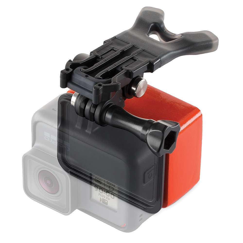 The GoPro Bite Mount + Floaty is a hands-free apparatus that helps capture quality footage of your active exploits. It's designed to reduce vibration for a clean, stable shot and lets you show off your POV perspective. The mount is compatible with your GoPro HERO5 or HERO6 camera, and includes a bright orange buoy just in case you take a spill out on the water.  Features of the GoPro Bite Mount + Floaty Includes Floaty, an easy-to-spot device that keeps your GoPro afloat Easy to use for hands-free POV capture in any environment Integrated mounting buckle makes it easy to capture new POV angles and quickly change perspectives, or securely mount your camera Ergonomic, rugged design and materials ensure comfortable mouth mounting and stable, shake-free footage What's Included: Bite Mount Floaty Extension Piece with Set Screw Thumb Screw The Frame Backdoor - $29.99
