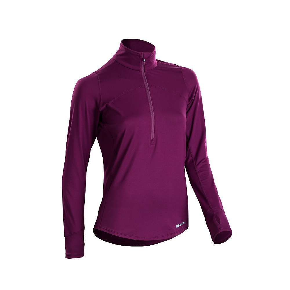 Features of the Sugoi Women's Fusion Core Zip Top Dri Active Core is a soft, lightweight four way stretch knit fabric for incredible comfort Flat seams for increased comfort and abrasion resistance Back side pocket with invisible zip and internal media cord access - $64.95