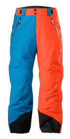 Step up your style game with the Arctica Adult 50-50 Side Zip Ski Pants that features a different color on each leg. You'll match with many jackets while staying warm and protective all winter long. These pants include full seam sealing, articulated knees, belt loops, leg ventilation and more.Specs:Fit: Regular Warmth: Warmer Waterproofing: Moderate Breathability: Moderate Insulation Type: Heat40 Insulation Weight: n/a - $200.00