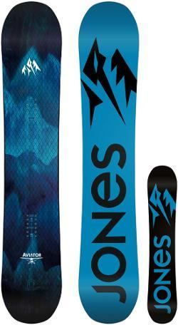 Equally at home in the park, pipe, pow or steeps, the Jones Aviator is an elite all-mountain freestyle board built for premier stability in the air and unmatched edge grip. - $549.00