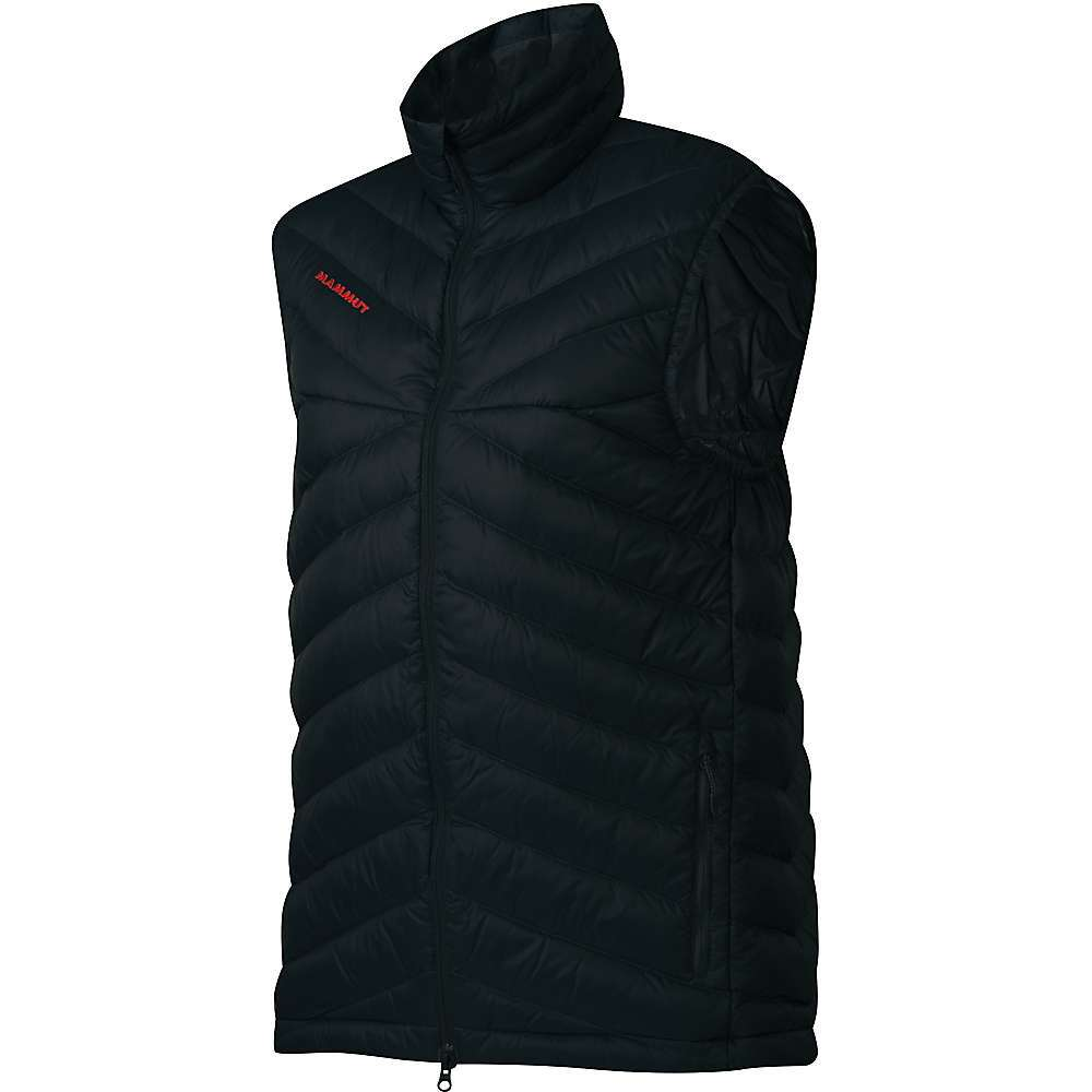 Features of the Mammut Men's Trovat IN Vest Chin protector 2-Way front zip 2 Side pockets with zips Adjustable hem width 1 Inside pocket with zip - $149.95