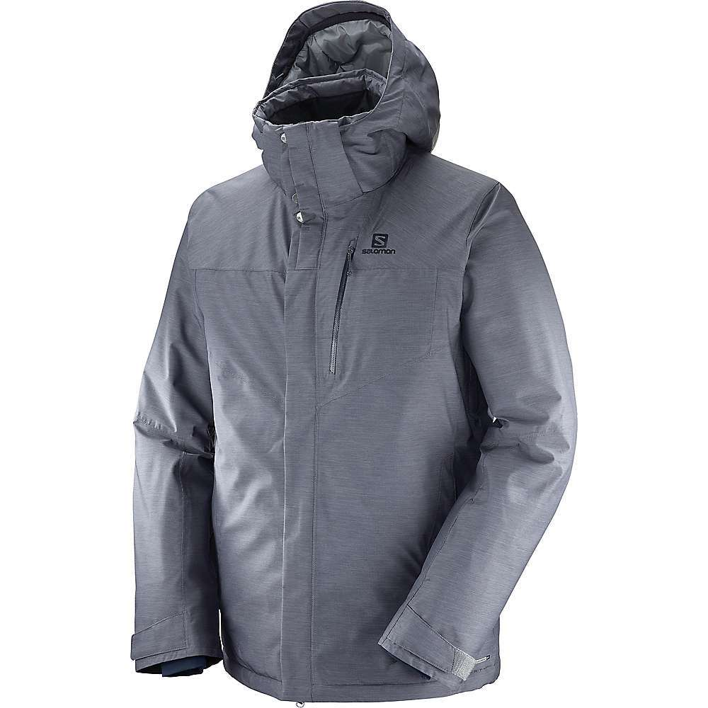 Features of the Salomon Men's Fantasy Jacket Warm, waterproof and breathable It's a Technical jacket that performs on the mountain and transitions easily from the slopes to the city Goggle mesh pocket Inner stash pocket Removable zip-off hood with 3D adjustment Efficient moisture wicking Advanced skin active dry Air vent system with mesh backing Hem adjustment AdvancedSkin Dry Technology provides ultimate protection against rain, Snow and wind from the outside - $299.95