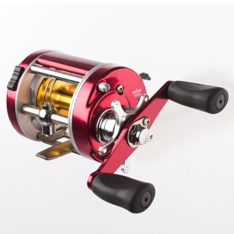 CLOSEOUTS . A dependable workhorse for freshwater baitcasting, Daiwaand#39;s Millionaire Classic 300L reel boasts a lightweight aluminum frame packed with high-strength metal alloy gears and Infinite Anti-Reverse technology for strong fighting power. Available Colors: SEE PHOTO. - $39.99