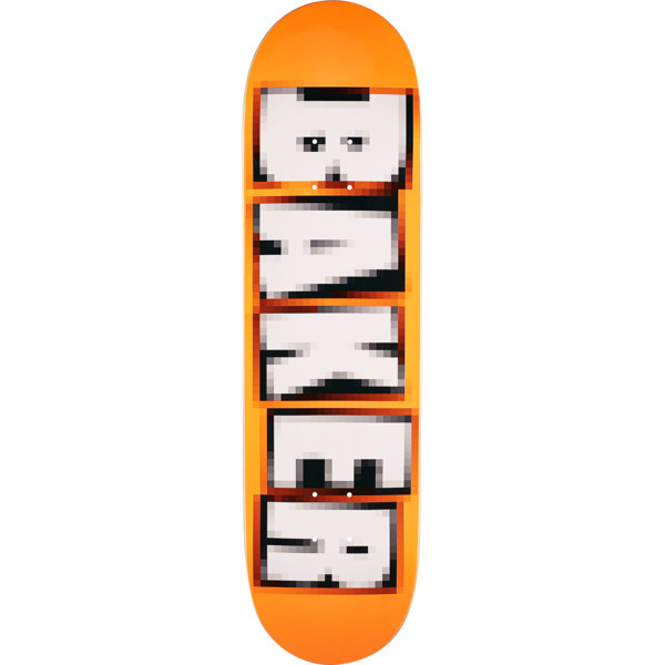 Baker Skateboards Brand Name Pixelated Skateboard Deck is made from the highest quality skateboard materials. Most decks will require the purchase of grip tape in addition. - $51.95