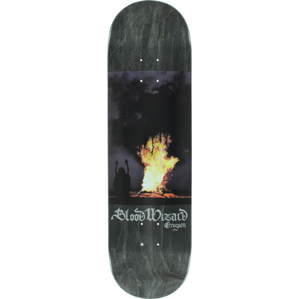 Blood Wizard Skateboards Invocation Skateboard Deck is made from the highest quality skateboard materials. Most decks will require the purchase of grip tape in addition. - $48.95