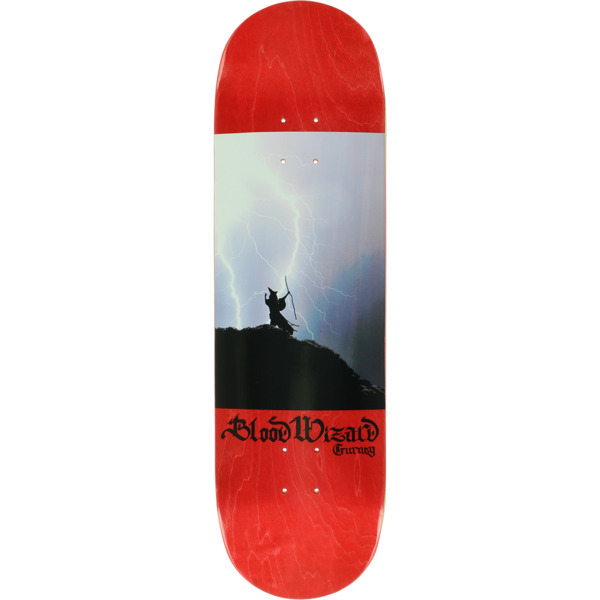Blood Wizard Skateboards No Mercy In Sorcery Skateboard Deck is made from the highest quality skateboard materials. Most decks will require the purchase of grip tape in addition. - $48.95