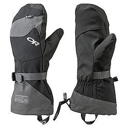For the times where you can't dodge the cold, keep your hands toasty with Outdoor Research's Mitts. Combining a waterproof exterior with a removable fleece liner and AlpenGrip gives these gloves all the warmth and weather protection you need. PRODUCT FEATURES: Wicking Synthetic AlpenGrip LT Palm Removable Liner Heat Pack Pocket Removable Leash Pull-On Loop Glove Clip Carabiner Loop Flip-Top Finger and Thumb Covers on Liner Magnetic Flip Top Retention Points Ladder-Lock Wrist Cinch SuperCinch Gauntlet Pre-Curved Construction 243247 , outdoor research meteor mitts , outdoor research meteor mittens , or meteor mitts , or meteor mittens , meteor mitts outdoor research , outdoor research mens meteor mitts , outdoor research mens meteor mittens , or mens meteor mitts , or mens meteor mittens , mens meteor mitts outdoor research , ski mittens , skiing mittens , snowboard mittens , snowboarding mittens , ski hats mittens , mittens , handwear , snowboarding , skiing , winter mittens , cold weather mittens , waterproof mittens , warm mittens , insulated mittens , outdoor research ski mittens , outdoor research skiing mittens , outdoor research snowboard mittens , outdoor research snowboarding mittens , outdoor research ski hats mittens , outdoor research mittens , outdoor research handwear , outdoor research snowboarding , outdoor research skiing , outdoor research winter mittens , outdoor research cold weather mittens , outdoor research waterproof mittens , outdoor research warm mittens , outdoor research insulated mittens , or ski mittens , or skiing mittens , or snowboard mittens , or snowboarding mittens , or ski hats mittens , or mittens , or handwear , or snowboarding , or skiing , or winter mittens , or cold weather mittens , or waterproof mittens , or warm mittens , or insulated mittens , or , mens mittens , mens waterproof mittens , mens ski mittens , mens skiing mittens , mens snowboarding mittens , mens snowboard mittens - $79.00