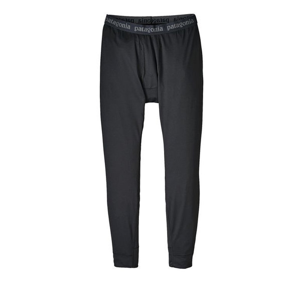 The Patagonia Men's Capilene Midweight Bottoms. Our most versatile baselayer with the greatest comfort range is made with Polartec(R) Power Grid(TM) fabric with Polygiene(R) permanent odor control and Fair Trade Certified(TM) sewing.    Features:    Polartec(R) Power Grid(TM) fabric has a smooth face for easy layering; spandex for stretch and ease of movement with Polygiene(R) permanent odor control  Fabric's brushed-grid pattern next to skin provides superior warmth, breathability and moisture-wicking performance  Elastic waistband is brushed for next-to-skin softness  Gusseted crotch for comfort and unimpeded mobility  Functional fly  Flatlock seams to minimize chafing  193 g (6.8 oz) - $59.00