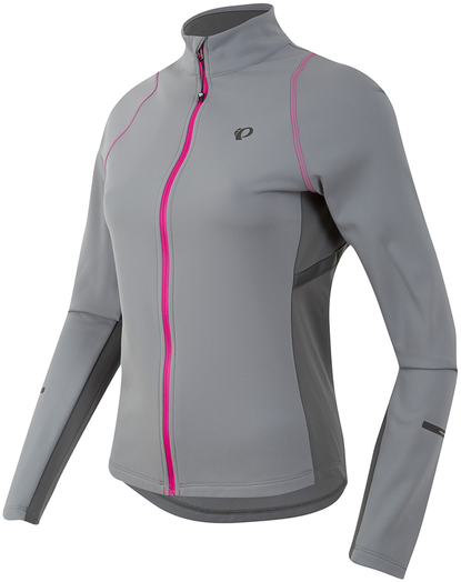 The all-new Women's SELECT Escape Thermal Jersey offers a lifestyle-inspired feminine look and premium features in a price-conscious package, perfect for cool weather coffee shop rides. Thermal fleece serves to move moisture away from skin, a new satiny full front zipper provides smooth venting, and directional side stripes add reflectivity along with slimming design detail.      - SELECT Thermal Fleece sets the benchmark in warmth and moisture transfer   - Full length zipper venting with draft flap   - Zippered back pockets   - Reflective elements for low-light visibility - $85.00