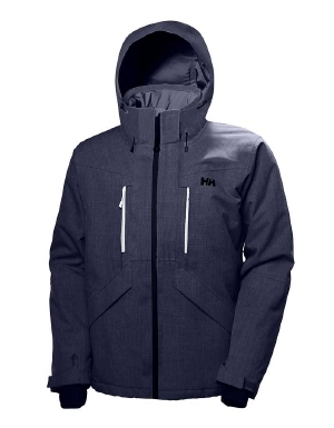 """The men's Juniper II jacket from Helly Hansen is an elegant hybrid of a ski jacket and a winter city jacket. With fully sealed seams, water-resistant zippers, and a durable water-repellent (DWR) finish, this coat is sure to keep you dry, no matter what the weather. Mechanical venting, articulated arms, and a snap-away powder skirt give this coat the features it needs to hit the slopes. You'll also appreciate the smaller details, such as the hand warmer pockets, ski pass pocket, and internal pocket for goggles and electronics. With its clean and simple style, Helly Hansen's Juniper II jacket for men performs on the slopes and looks great on the streets.   	 		Primaloft insulation provides great warmth 	 		Mechanical venting keeps you dry and comfortable 	 		Hood is adjustable and helmet compatible for ease 	 		DWR finish sheds moisture to keep you dry 	 		Sealed seams, water-resistant zippers prevent leaks  ."""""" - $400.00"