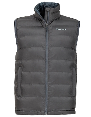 """When you're heading to work in the morning, and hitting the trails on the weekend, you'll want Marmot's Alassian vest for men to keep you company. Made with eco-friendly 3M Thinsulate that equals 700 fill-power down in warmth, this vest insulates your body heat to keep you warm during cold spells. Woven baffled construction keeps insulation in place to prevent cold spots. Zippered handwarmer pockets provide an additional luxury in the stylish and durable Alassianmen's vest from Marmot.   	 		3M Thinsulate featherless insulation for warmth 	 		Elastic drawcord hem for a snug fit 	 		Woven baffled construction keeps insulation in place  ."""""" - $140.00"