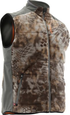 36deae0082851 Hunting Stay comfortable all through hunting season with Nomads Mens Dunn  PrimaLoft Vest. Windproof,