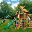 Gorilla Playsets Navigator Treehouse with Timber Shield Swing Set - $2,699.99